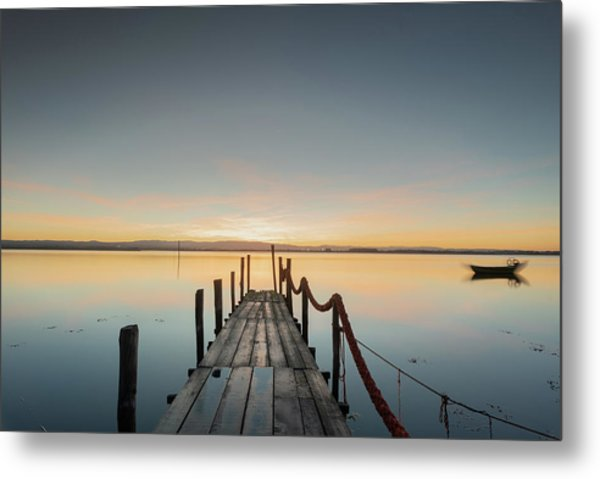 Metal Print featuring the photograph Infinity by Bruno Rosa