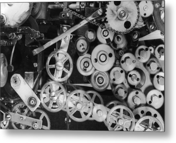 Inner Workings Metal Print by Graphic House