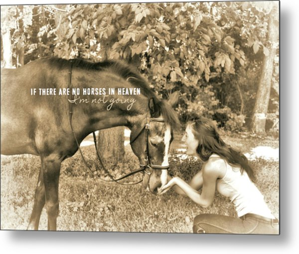 Instant Message Quote Metal Print by JAMART Photography