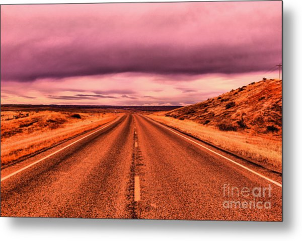 Into Nothingness  Metal Print