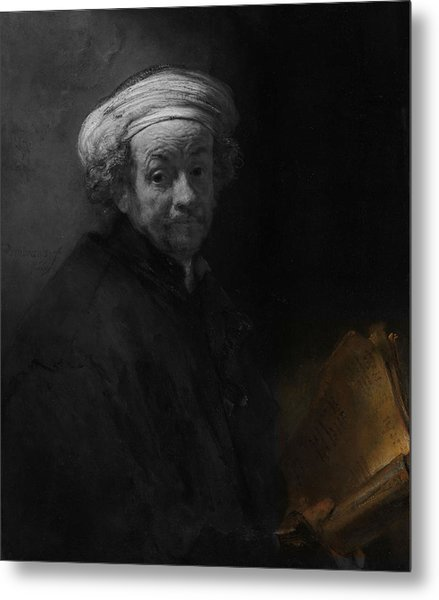 Inv Blend 22 Rembrandt Metal Print