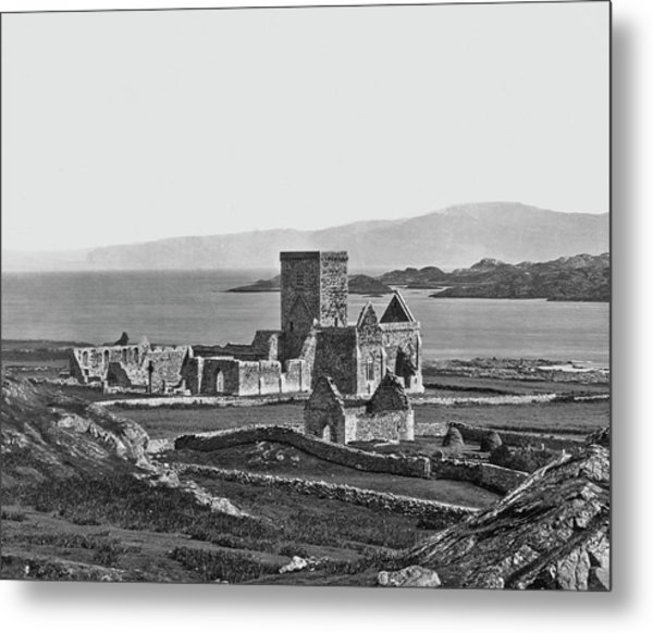 Iona Cathedral Metal Print