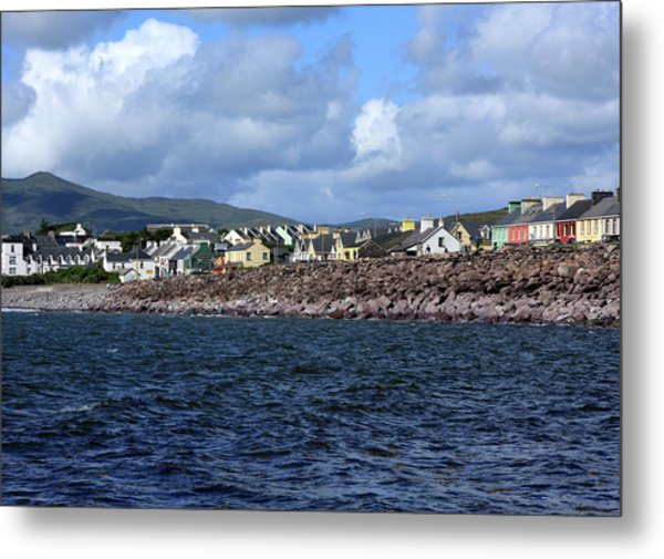 Irish Seaside Village, Co Kerry  Metal Print