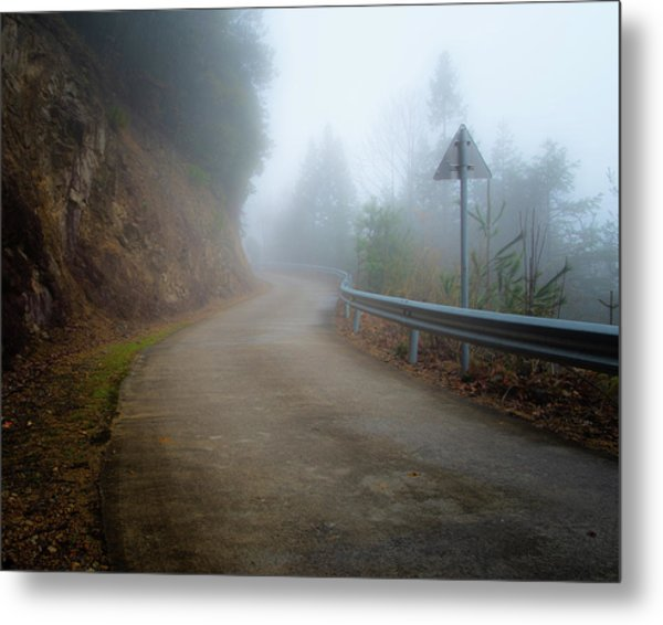 Metal Print featuring the photograph Is Anyone Coming? by William Dickman