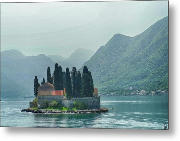 Island Church Of St George Metal Print