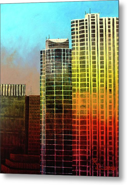 It Takes A Rainbow Metal Print