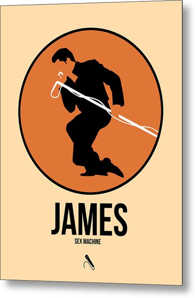 James Brown Metal Print