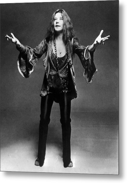 Janis Joplin 1966-1970 Metal Print by Keystone-france