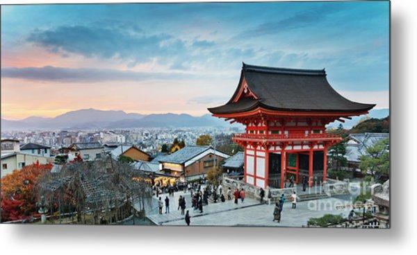 Japan - Kyoto. Kiyomizu Temple Metal Print by Kanuman