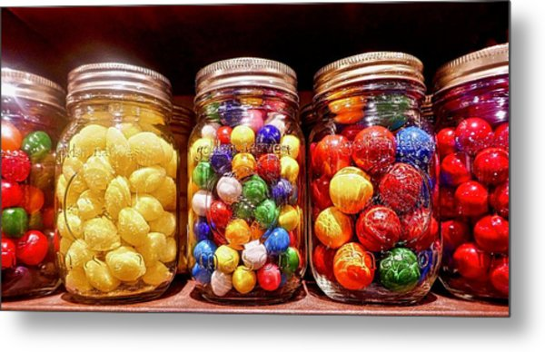 Metal Print featuring the photograph Jaw Breakers by Joan Reese