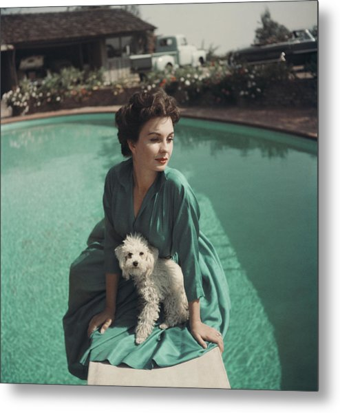 Jean Simmons Metal Print by Baron