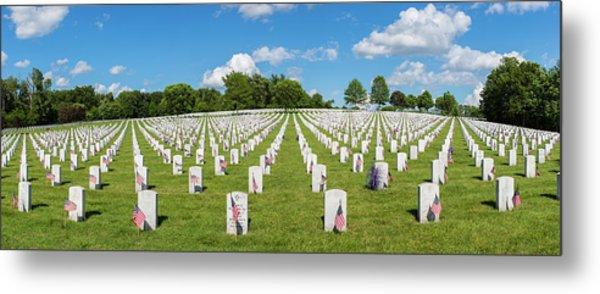 Jefferson Barracks National Cemetery Metal Print