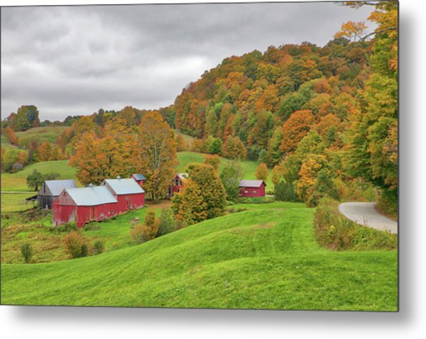Metal Print featuring the photograph Jenne Farm by Juergen Roth