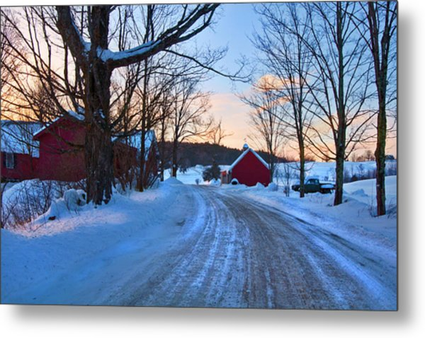Metal Print featuring the photograph Jenne Farm Sunrise - Woodstock, Vt. by Joann Vitali