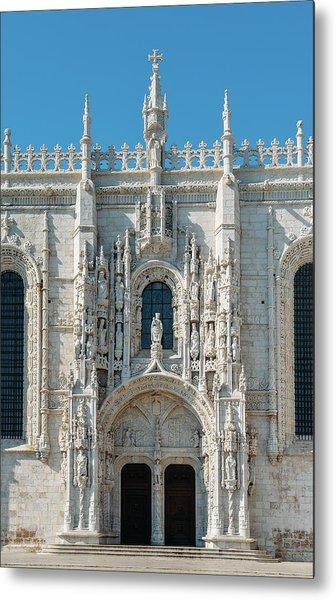 Jeronimos Monastery, Portugal Metal Print