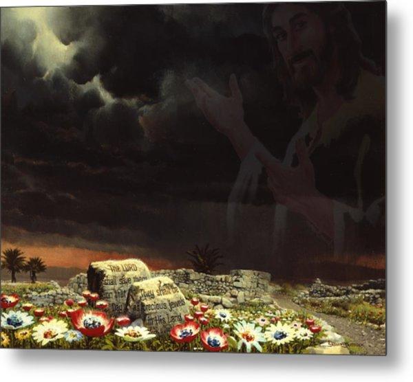 Jesus And His Jewels Metal Print
