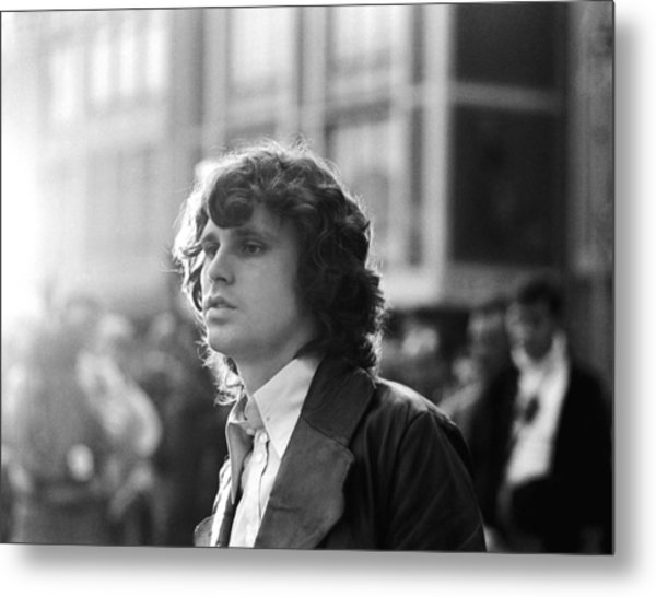 Jim Morrison Metal Print by Michael Ochs Archives