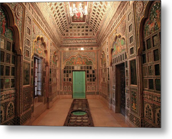 Jodhpur Fort Palace Metal Print by Milind Torney