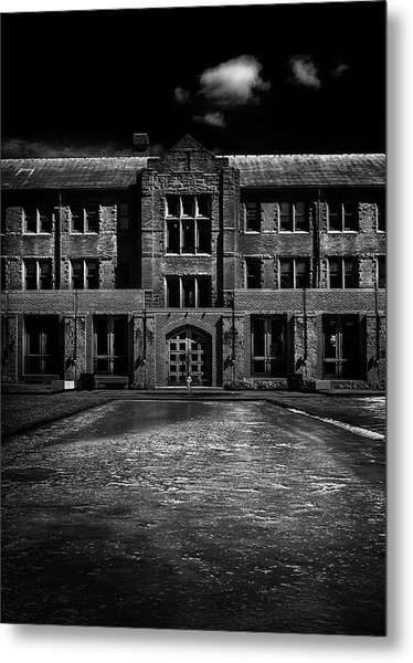John W Graham Library Metal Print