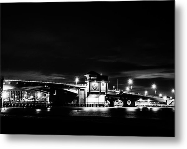 Johns Pass Bridge Metal Print