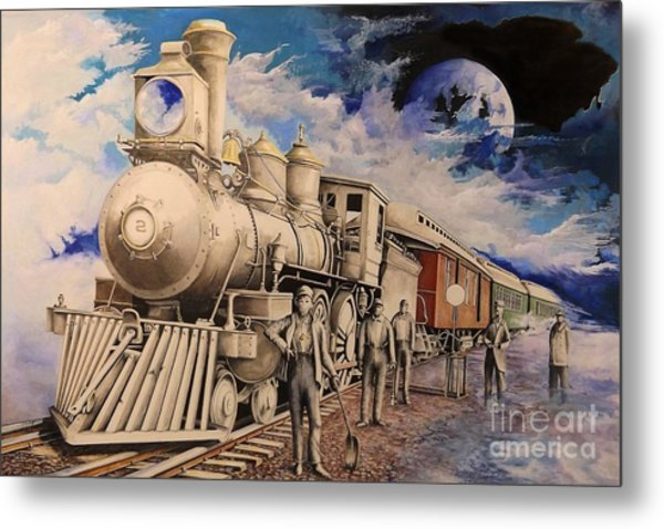 Journey Through The Mists Of Time Metal Print