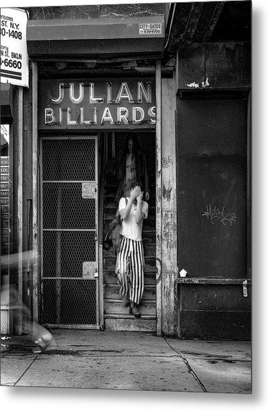 Julian Billiards Metal Print