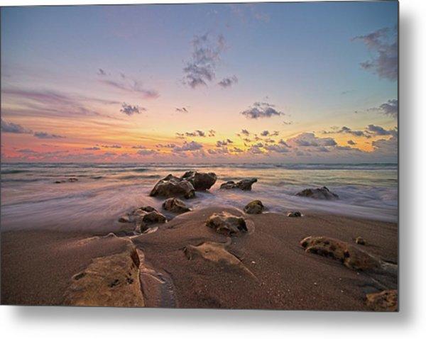 Jupiter Beach 2 Metal Print