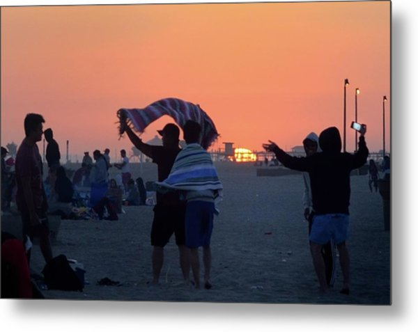 Metal Print featuring the photograph Just Another California Sunset by Ron Cline