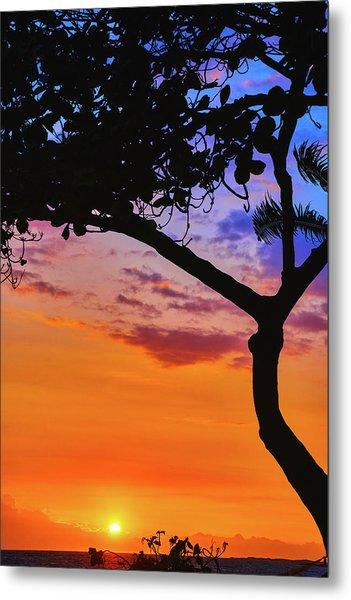 Just Another Kona Sunset Metal Print