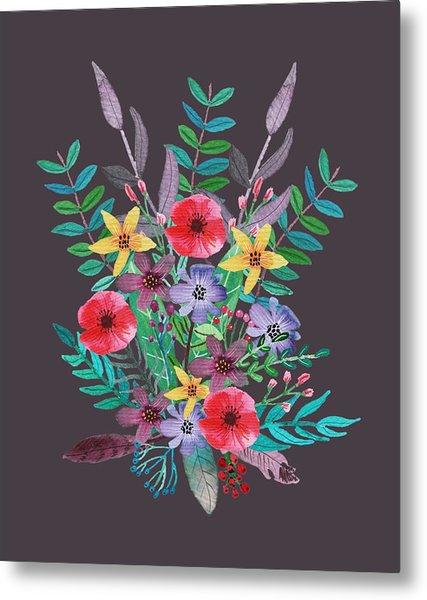 Just Flora II Metal Print