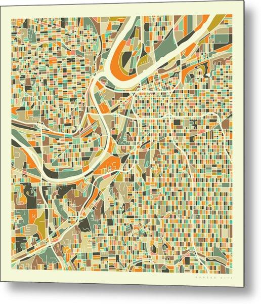 Map Of America Kansas City.Map Of Kansas Metal Prints And Map Of Kansas Metal Art Fine Art