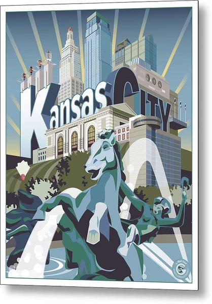 Kansas City Metal Print