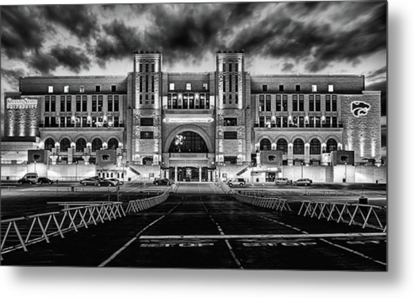 Kansas State Football Metal Print by JC Findley