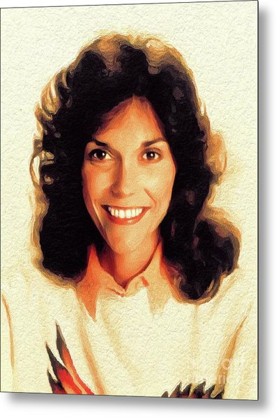 Karen Carpenter, Music Legend Metal Print