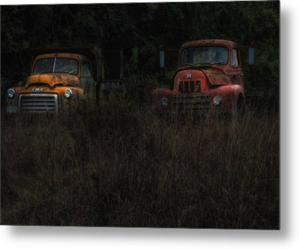 Karly's Trucks Metal Print