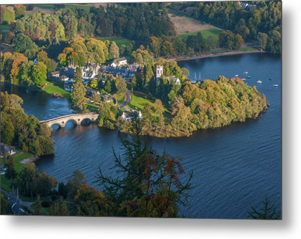Kenmore And Loch Tay Metal Print by David Ross
