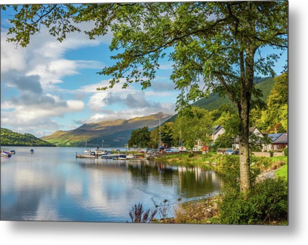 Kenmore And Loch Tay, Perthshire Metal Print by David Ross