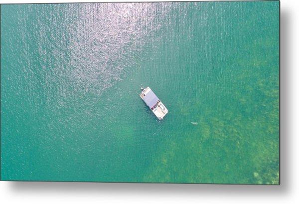 Keuka Lake Boating Metal Print