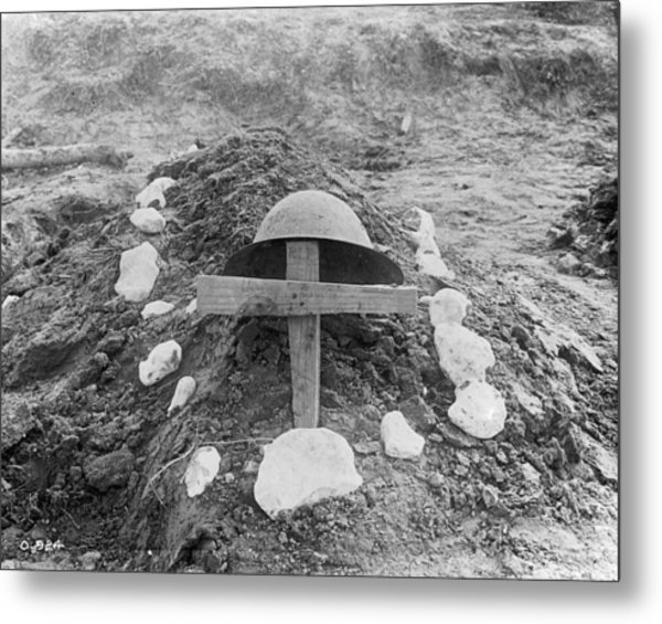 Killed In Action Metal Print by Hulton Archive