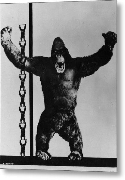 King Kong Metal Print by General Photographic Agency
