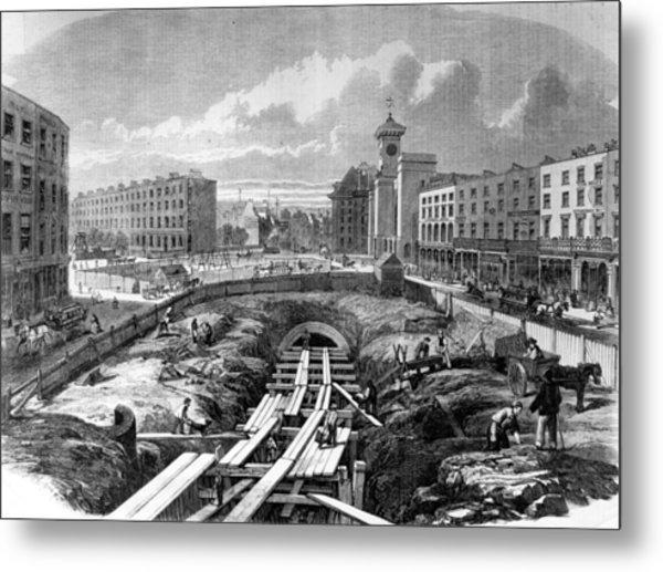 Kings Cross Station Metal Print by Hulton Archive