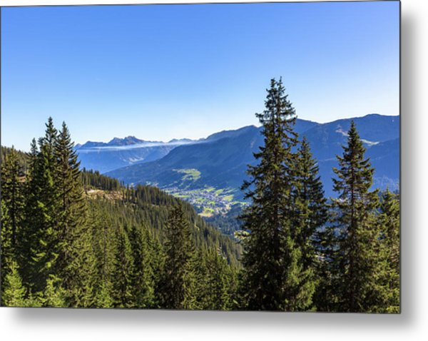 Metal Print featuring the photograph Kleinwalsertal, Austria by Andreas Levi