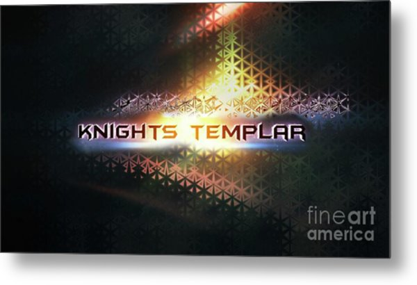 Knights Templar Metal Print