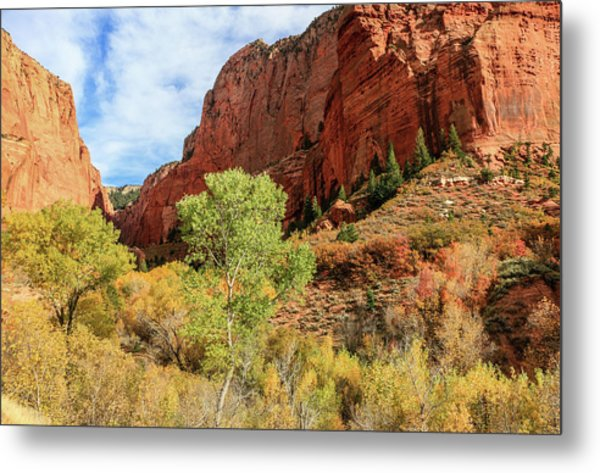 Kolob Canyon 1, Zion National Park Metal Print
