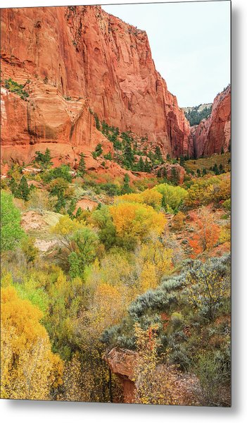 Kolob Canyon 2, Zion National Park Metal Print