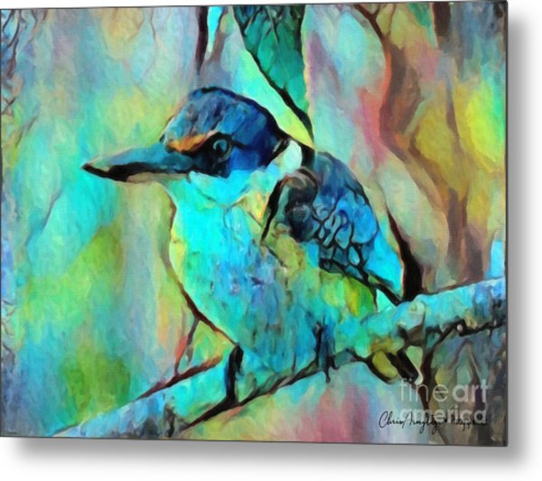 Kookaburra Blues Metal Print