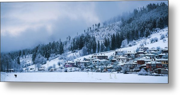 Koprivshtica Winter Panorama Metal Print