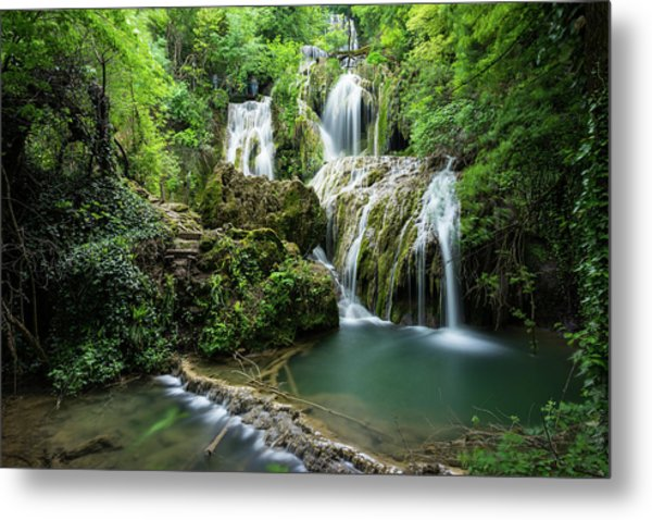 Krushunski Waterfalls Metal Print