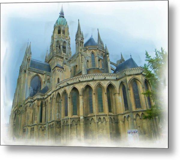 La Cathedrale De Bayeux Metal Print