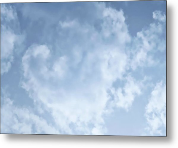 Metal Print featuring the photograph Lace Agate Sky by Judy Kennedy